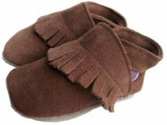 Bruine Starchild babyslofjes ciao brown suède