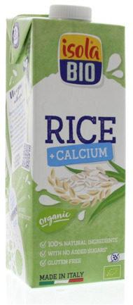 Afbeelding van Isola Bio Rijstdrank calcium 1000 Milliliter
