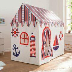 Rode Howa XXL Speelhuis Speeltent 'Sailor' incl. Katoenen Vloermat 8507