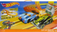 Hot Wheels Racebaan 632 Cm - met 2 Auto's en Adapter