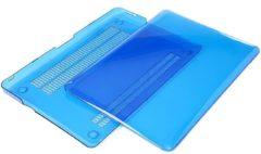 Lichtblauwe Xssive Macbook Case voor MacBook Retina 13.3 inch - Laptoptas - Clear Hard Case - Licht Blauw