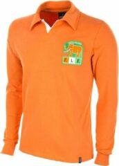 Oranje Copa Retro shirt Ivoorkust 1980's maat M