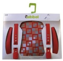 Rode Qibbel Q516 - Stylingset Luxe Voorzitje - Checked Red