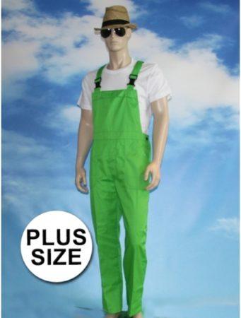 Afbeelding van Merkloos / Sans marque Grote maten groene tuinbroek voor volwassenen 2XL (44/56)