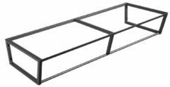 Sapho Industrial wastafel frame mat zwart 120cm