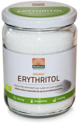 Afbeelding van Mattisson HealthStyle Erythritol Biologisch