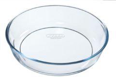 Pyrex Bake & Enjoy Bakvorm - Borosilicaatglas - Ø26 cm - Transparant
