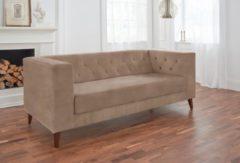 Alte Gerberei 2-Sitzer Sofa »Evelin« mit Knopfheftung