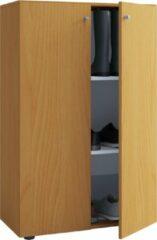 Vcm Vandol Lonal Mini Opberg-/Kledingkast - 110 cm - 3 opbergvakken - Bruin - Geschikt voor kinderen