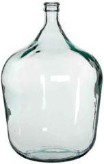 Edelman Montfoort Mica Decorations fles diego glas maat in cm: 56x40 transparant TRANSPARANT