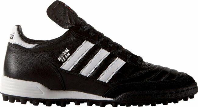 Afbeelding van Witte Adidas Mundial Team - Kunstgrasvoetbalschoenen - Volwassenen - Maat 44 - Black/ White
