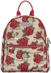 Rode Signare Daypack rugtas - Frida Kahlo Rose