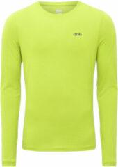 Gele Dhb hardloopshirt (lange mouwen) - Hardloopshirts (lange mouwen)
