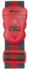 Masterlock Master Lock - Gepäckgurt Mit Zahlenschloss - Fietsslot maat 950 - 2000 mm rood