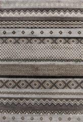 Impression Rugs Design Collection Loft Vintage Beige / Grijs vloerkleed Laagpolig - 200x290 CM
