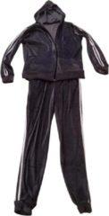 AWR Premium Dames Trainingspak / Tracksuit / Joggingspak   Sport kleding   Paars-Wit - L