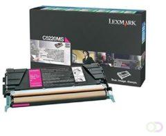 Lexmark Toner Kit magenta return program - 3000 pagina's - C5220MS