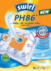 Swirl Typ PH96 Staubsaugerbeutel für Philips, AEG, Electrolux, Volta (Alternative für AEG GR 210 und Electrolux E 210)