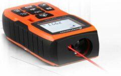 WiseGoods - Premium Digitale Laser Afstandsmeter - Meetapparaat - 40 Meter Bereik - Nauwkeurige Meting - Waterdicht