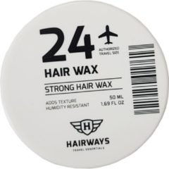 Hairways 24 - Strong Hair Wax Strong Hold 50ml