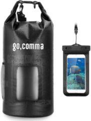 """GearBest """"Gocomma 10L Waterproof Kayaking Bag - Black"""""""
