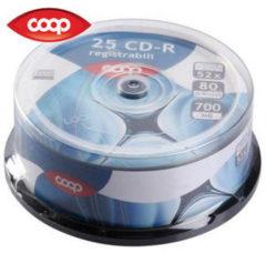 COOP Confezione da 25 CD-R 9721513M8C-CTQ6
