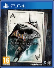 Warner Bros. Entertainment Warner Bros Batman: Return to Arkham, PlayStation 4 video-game Basis