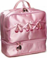 Katz Ballettas satijn roze met dubbel vak