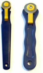 Gele Merkloos / Sans marque Set van 2 Rotary cutters - Ø 18mm en Ø 28mm