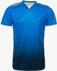 Dutch Pro Dutchy Pro heren voetbal T-shirt - Blauw - Maat S