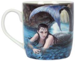 Blauwe Anne Stokes Hidden Depths beker