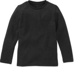 Zwarte HEMA Jongens T-shirt - Biologisch Katoen (Zwart)