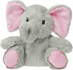Roze Pelucho Warmteknuffel lavendel-tarwe Babyolifant