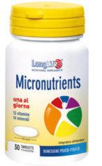 Longlife Micronutrients Integratore Alimentare 30 Tavolette
