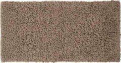 Zandkleurige Sealskin Twist Badmat Polyester 60x120 cm Zand