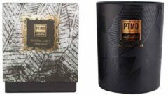 Zwarte PTMD Elements Fragrance Candle Imperial leafs 450 gr