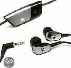 Zwarte BlackBerry In-Ear Stereo Headset HDW-15766-005