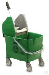Rubbermaid Combo Bravo Emmer - Inclusief Pers - 25 l - Groen