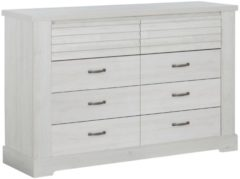 Gamillo Furniture Commode Thelma 151 cm breed in gekalkte kastanjehout
