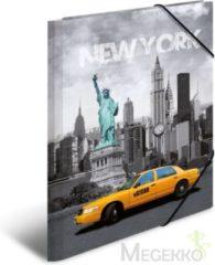 "HERMA HERMA Eckspannermappe ""Trendmetropolen New York"" PP A3 (7274)"
