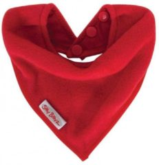 Silly Billyz Cuddly fleece bandana slab rood
