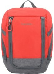 Basics Rucksack 36 cm Travelite rot grau