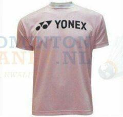 YONEX T-Shirt Badminton Tennis Roze/Zwart maat XXL