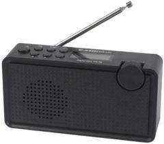 Zwarte Albrecht DR 62 draagbare Digitale radio, DAB+/FM