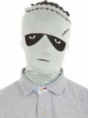 Grijze Morphsuits Morphsuit masker Frankenstein