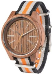 Torpedo Nut Orange Herrenuhr WW50002 WeWood braun