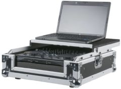 DAP Audio DAP DCA-CON1 Flightcase voor een 2-kanaals DJ controller en een laptop Home entertainment - Accessoires