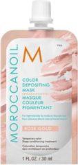 Moroccanoil Color Depositing Mask Rose Gold - verzorgend, uitwasbaar kleurmasker voor (licht-)blond tot medium blond haar