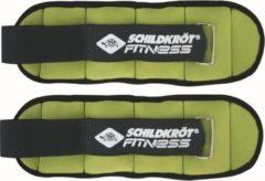Schildkrot Fitness Schildkröt Fitness Enkel - en polsgewichten - 2 x 0.5 kg - Nylon - Groen