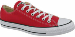 Rode Converse C. Taylor All Star OX Optical Red M9696